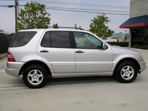 2001 mercedes ml320 tire size for Mercedes benz ml320 tires