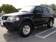 Used Orange County 2002 MITSUBISHI MONTERO SPORT XLS
