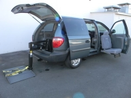 Used Orange County 2006 Dodge Caravan Wheelchair Handicapped Van