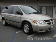 Used Orange County 2007 Dodge Caravan SXT Factory Baby seat