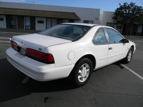 find a cheap used 1995 ford thunderbird lx coupe in orange. Black Bedroom Furniture Sets. Home Design Ideas