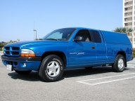Used Orange County 1998 DODGE DAKOTA SPORT WITH SHELL