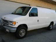 Used Orange County 1998 Ford Econoline E250 Cargo Van