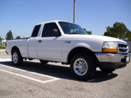 Used Orange County 1999 Ford Ranger Extra Cab Pickup Truck