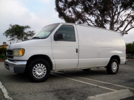 Used Orange County 2000 Ford Econoline E150 Cargo Van