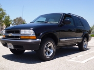 Used Orange County 2001 Chevrolet Blazer 4 Door