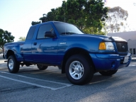 Used Orange County 2001 FORD RANGER EXTRA CAB EDGE