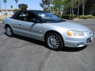 Used Orange County 2002 Chrysler Sebring Convertible Limited