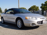 Used Orange County 2002 Chrysler Sebring LXI Convertible
