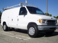 Used Orange County 2002 Ford Econoline E250 Cargo Van