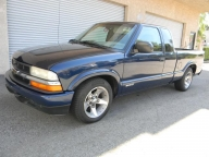 Used Orange County 2003 Chevrolet S10 LS Extended Cab Pickup Truck