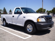 Used Orange County 2003 Ford F150 Pickup Truck Long Bed