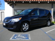 Used Orange County 2011 Volkswagen Routan 7 Passenger Minivan